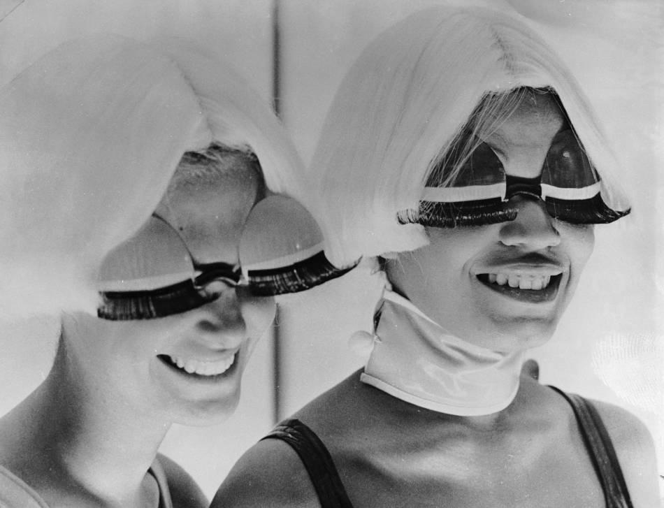 Fashion glasses, 1970.