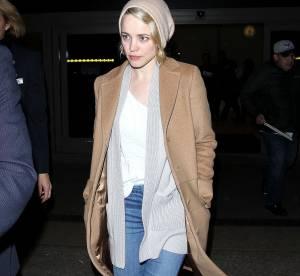 Rachel McAdams : son look casual chic tout en nuances de beige... À copier !