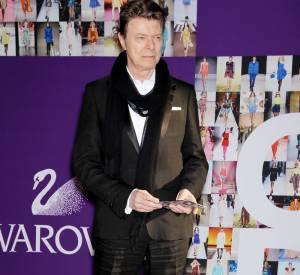 David Bowie lors d'une de ses dernières apparitions publiques en 2010.