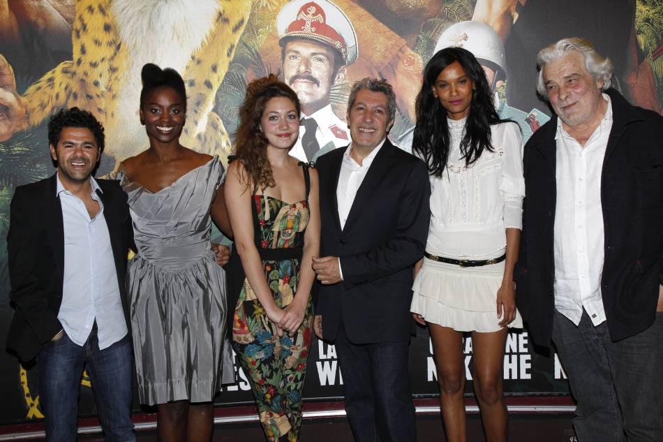 Alain Chabat aux côtés de sa fille, Louise, comédienne comme lui.