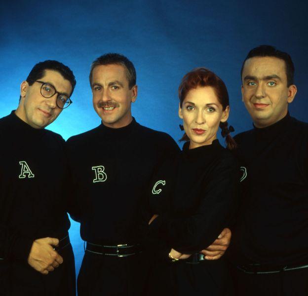 Alain Chabat, Bruno Carette, Chantal Lauby et Dominique Farrugia, alias Les Nuls, qui ont fait les grandes heures de Canal+.