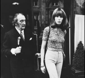 Amanda Lear fut aussi la muse de Salvador Dali pendant 15 ans.