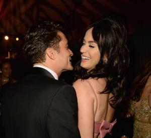 Orlando Bloom et Katy Perry étaient proches aux Golden Globes. Très proches.