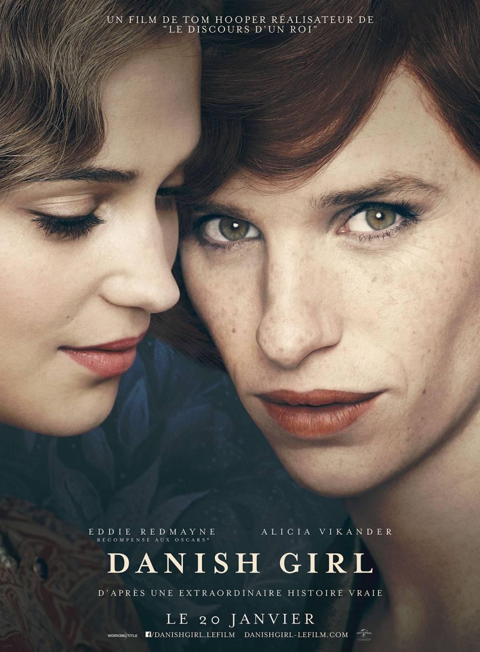 """""""Danish Girl"""" raconte le parcours de Lili Elbe, première femme à avoir connu une chirurgie de réattribution sexuelle dans les années 30."""
