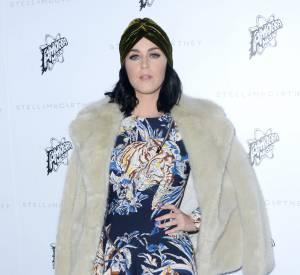 Katy Perry à la présentation de la collection de l'Automne 2016 de Stella McCartney, à Los Angeles, ce mardi 12 janvier 2016.