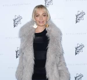 Nicole Richie à la présentation de la collection de l'Automne 2016 de Stella McCartney, à Los Angeles, ce mardi 12 janvier 2016.