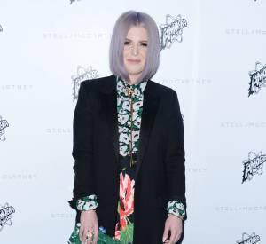 Kelly Osbourne à la présentation de la collection de l'Automne 2016 de Stella McCartney, à Los Angeles, ce mardi 12 janvier 2016.
