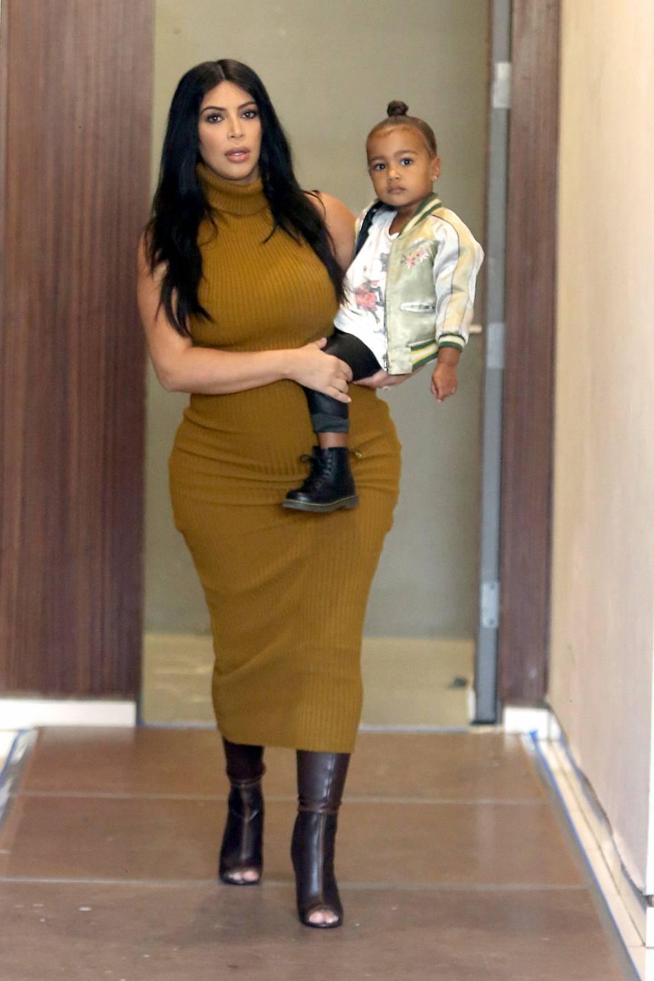 Depuis la naissance de son deuxième enfant, Kim Kardashian ne pense qu'à maigrir.