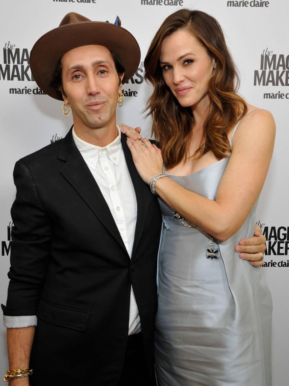 Jennifer Garner et le coiffeur Adir Abergel.