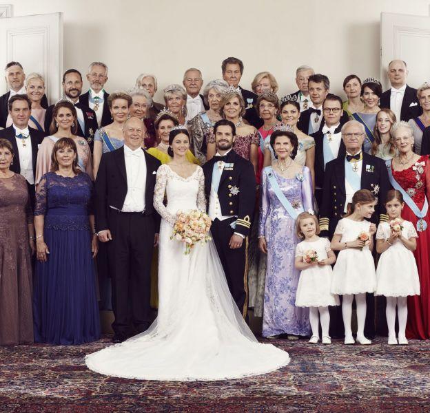 2015 a été marqué par le mariage de Sofia et Carl Philip de Suède.
