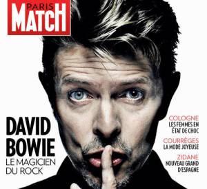 Paris Match met Bowie à l'honneur dans le numéro 3478 actuellement dans les kiosques.
