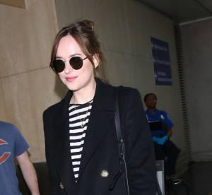 Dakota Johnson : casual chic à l'aéroport de LA ... A shopper !