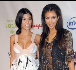 Kim et Kourtney Kardashian : décolletés prêts à exploser dans un selfie