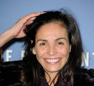Inés Sastre et son sourire rayonnant. Pas besoin de mise en beauté sophistiquée pour qu'elle soit sublime.