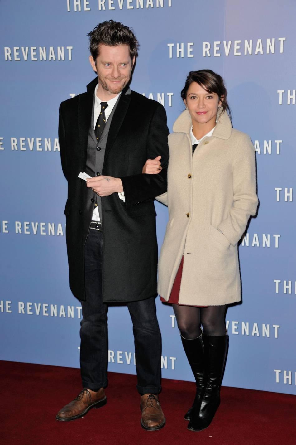 Emma de Caunes et Jamie Hewlett au Grand Rex à Paris, le 18 janvier 2016.