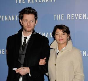 Emma de Caunes et l'illustrateur et musicien anglais Jamie Hewlett, son mari depuis 2011.