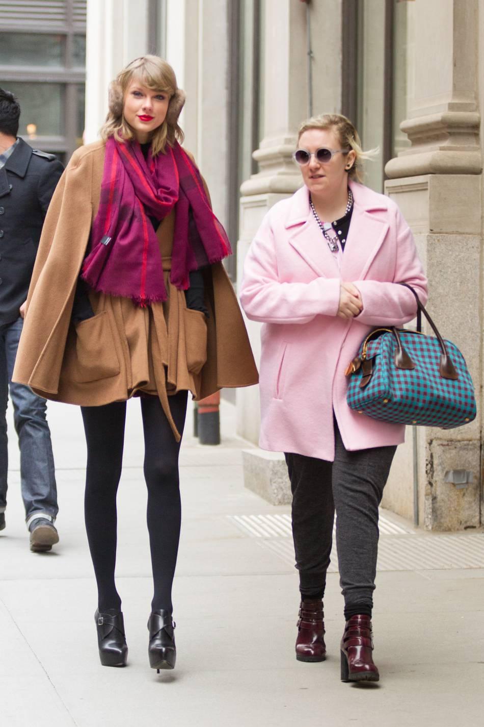 Taylor Swift et Lena Dunham : un duo explosif de meilleurs amies depuis leurs rencontre à l'écran.
