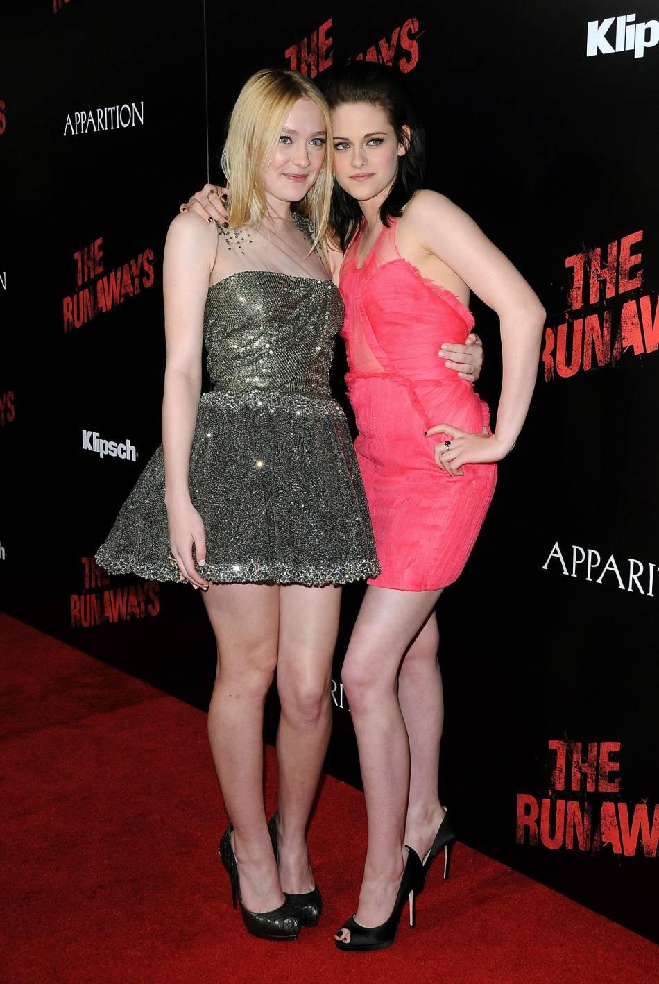 Kristen Stewart et Dakota Fanning: les deux actrices sont devenues inséparables, même sur le red carpet.