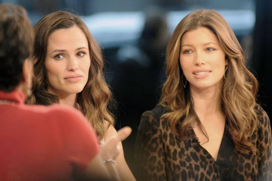 """Jessica Biel et Jennifer Garner : amies depuis le tournage du film """"Valentine's day"""", les deux bombes américaines sont devenues inséparables et ça se voit."""