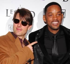 Will Smith et Tom Cruise : irrésistibles à l'écran et en vrai, les deux acteurs ultra sexy sont même très copains dans la vraie vie.