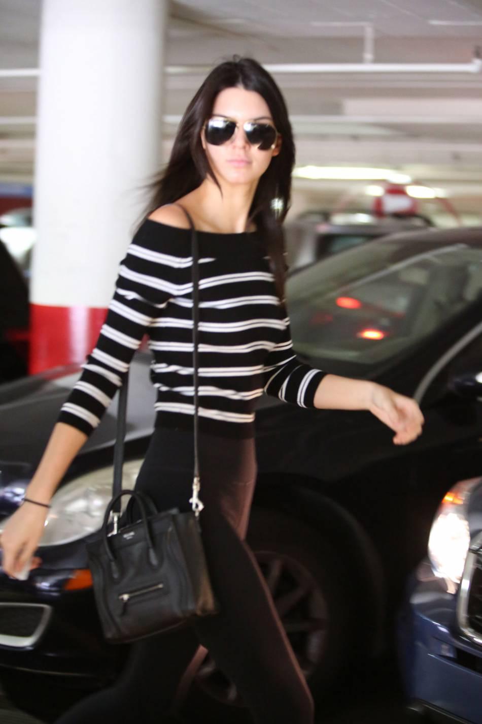 Kendall Jenner, toujours au top à chacune de ses sorties.
