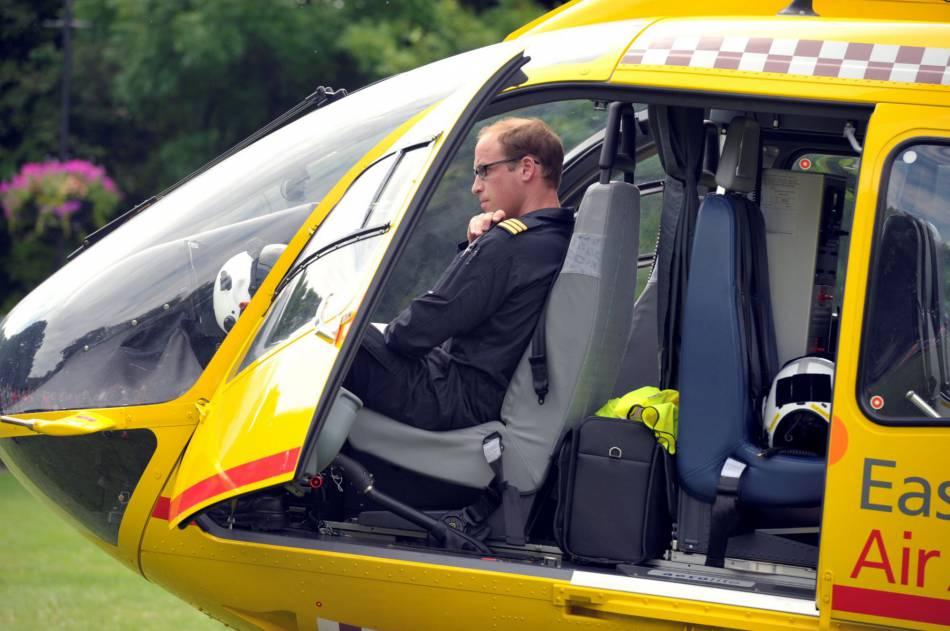 Le nouvel hélicoptère de William devrait lui permettre de faire encore mieux son travail. Ce passionné de sauvetage a hâte !