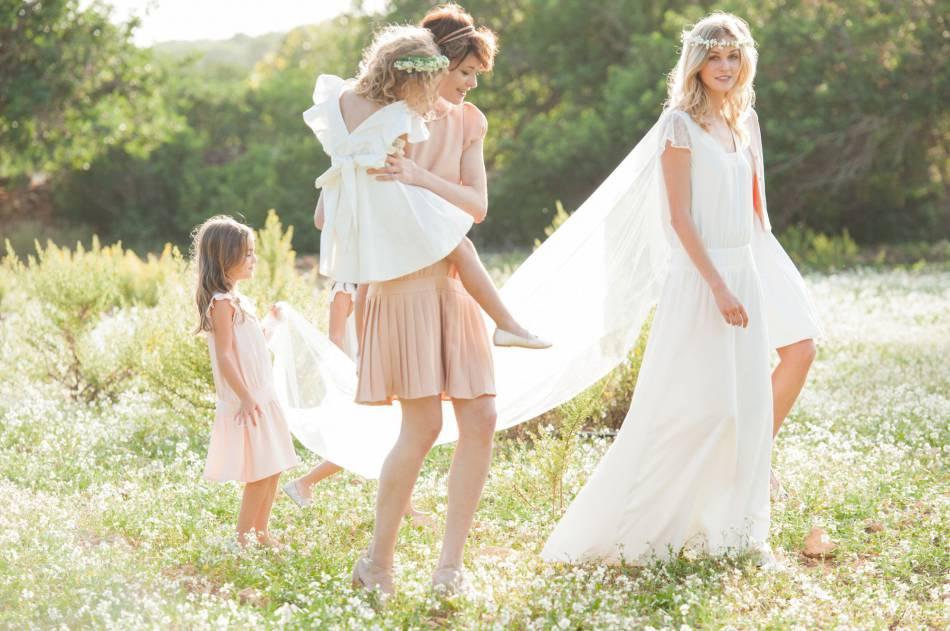 robe de mariée style bohème longue