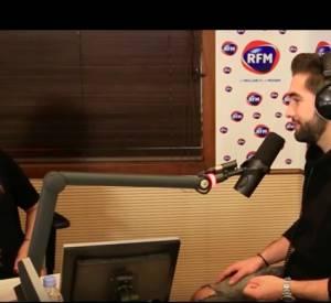 "Karine Ferri invite Kendji Girac pour son émission ""Un dimanche avec...""."