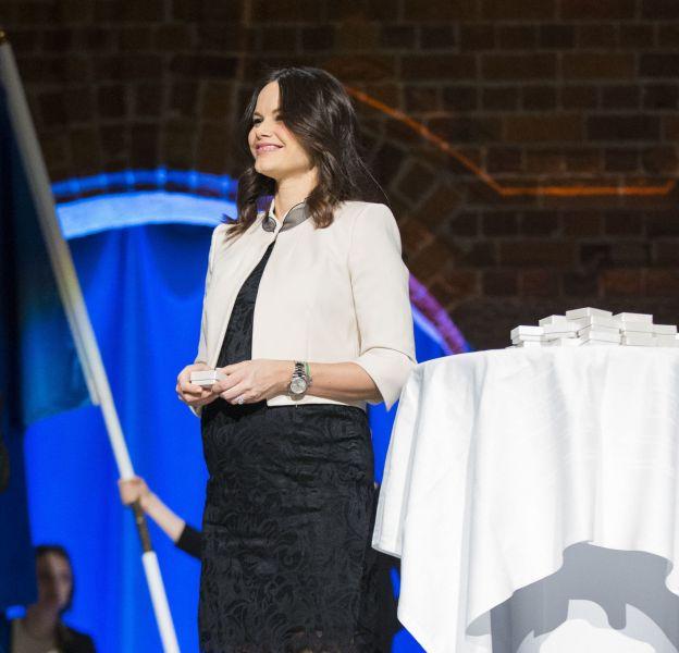 Sofia de Suède lors d'une remise de diplôme, le 21 janvier 2016.