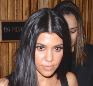 Kourtney Kardashian : dentelle sexy pour un dîner en ville