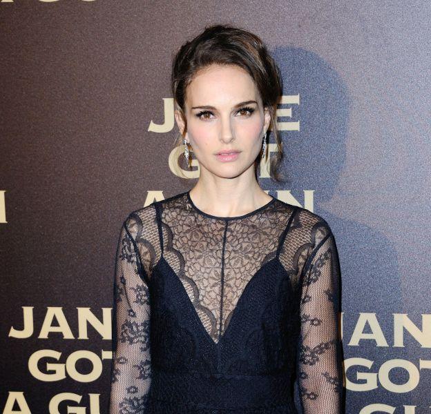 """Natalie Portman à la première du film """"Jane got a gun"""" à Paris le 24 janvier 2016."""