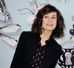 Valérie Lemercier au défilé Haute Couture Printemps-Été 2016 Schiaparelli.