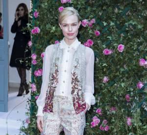 Kate Bosworth au défilé Haute Couture Printemps-Été 2016 Schiaparelli.