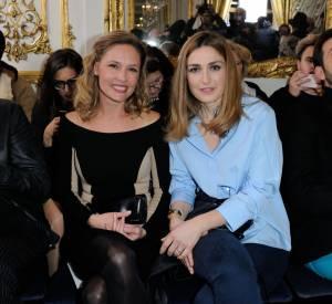 Julie Gayet et Lilou Fogli au défilé Haute Couture Printemps-Été 2016 Alexis Mabille.