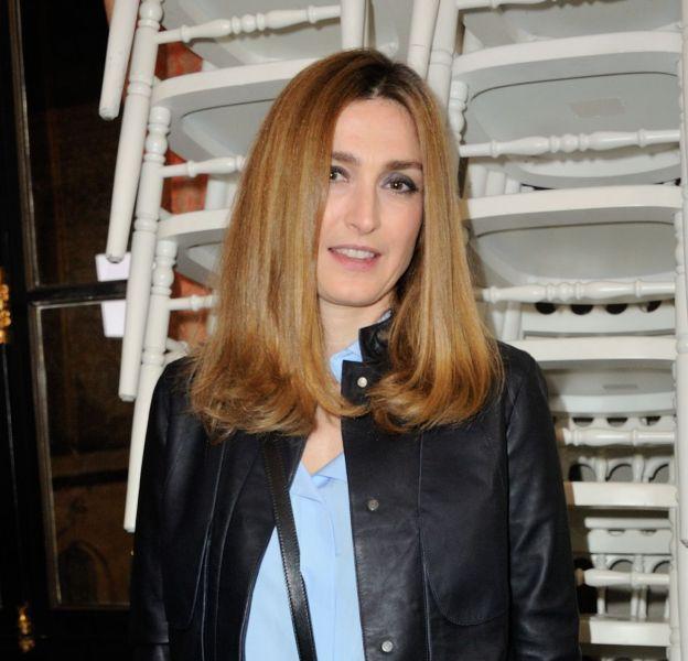 Julie Gayet au défilé Haute Couture Printemps-Été 2016 Alexis Mabille