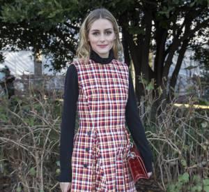 Olivia Palermo au défilé Haute Couture Printemps-Été 2016 Dior.
