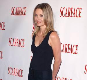 """Michelle Pfeiffer pour les 20 ans de """"Scarface""""."""