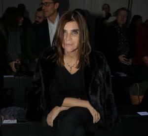 Carine Roitfeld au défilé Haute Couture Printemps-Été 2016 Alexandre Vauthier.