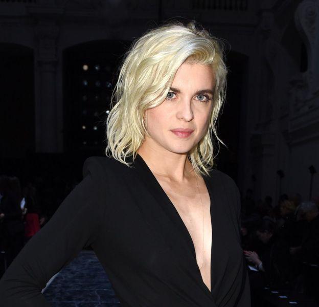 Cécile Cassel au défilé Haute Couture Printemps-Été 2016 Alexandre Vauthier.