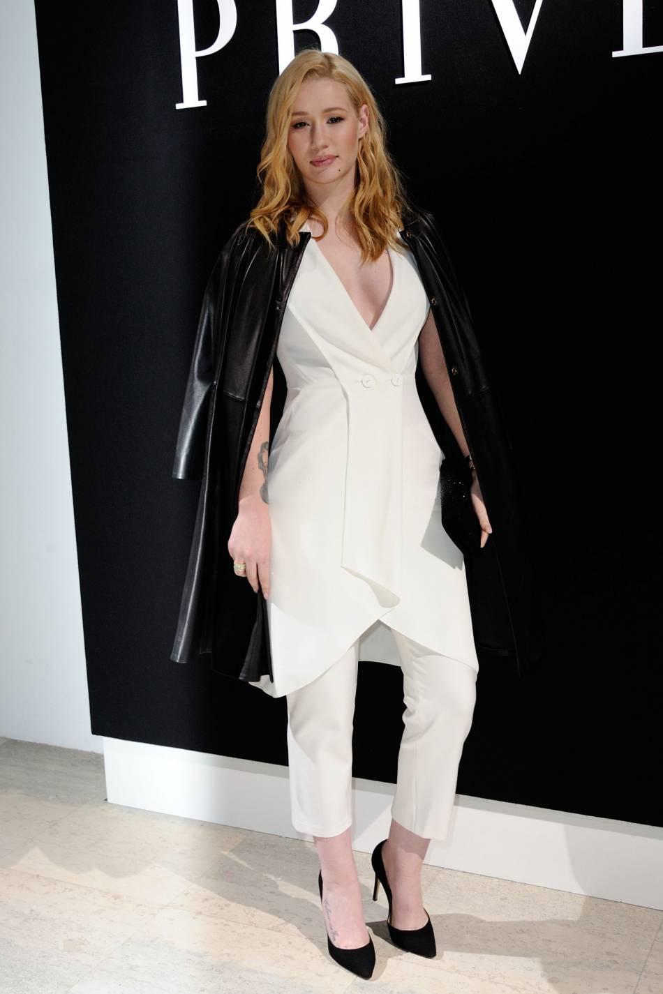 Iggy Azaleaau défilé Haute Couture Printemps-Été 2016Armani Privé.