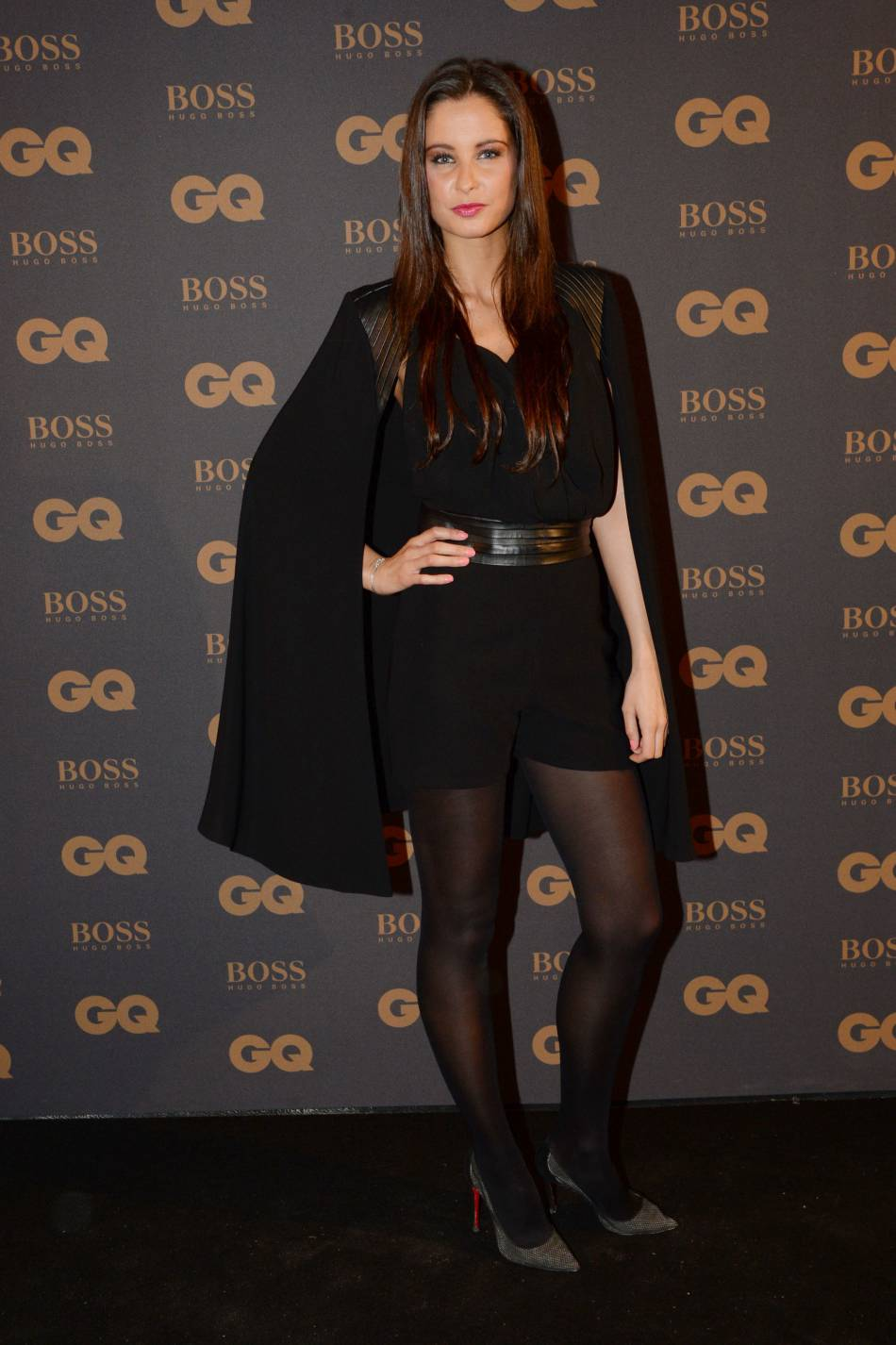 Malika Ménard, sexy lors de la soirée GQ Men of the Year, la semaine dernière.