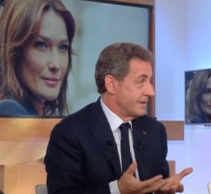 """Nicolas Sarkozy invité ce jeudi 28 janvier 2016 sur le plateau de """"C à vous"""" sur France 5."""