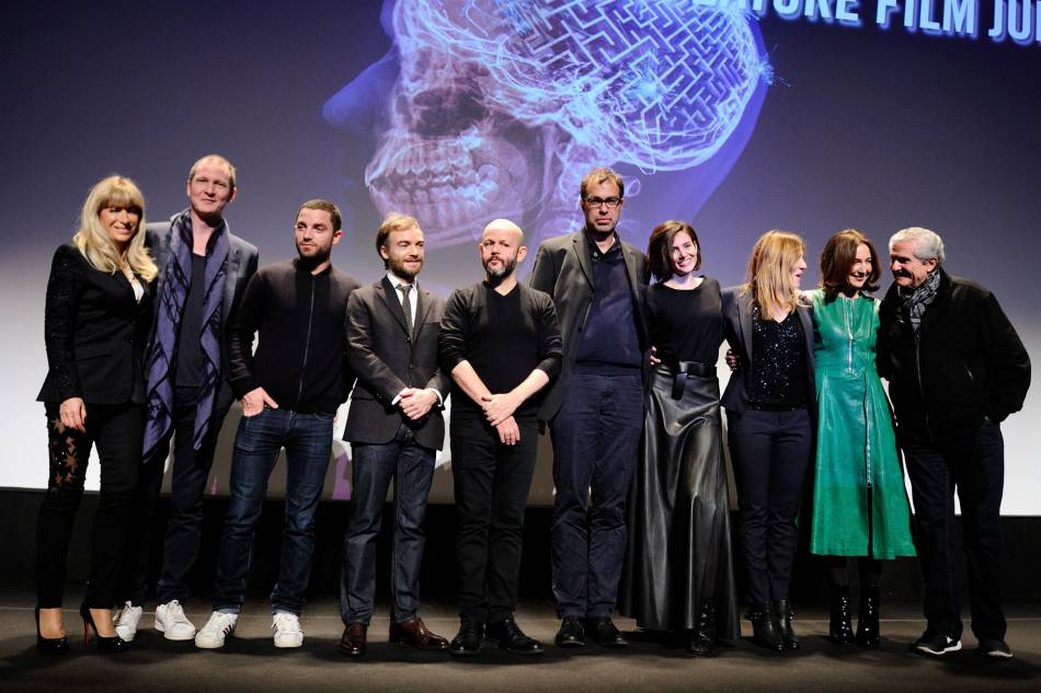 Le jury du Festival du film fantastique de Gérardmer 2016 au grand complet.