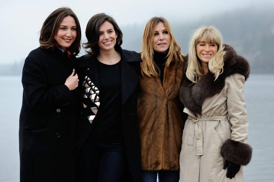 Elsa Zylberstein, Louise Monot, Mathilde Seigner et   Sophie Audouin-Mamikonian.