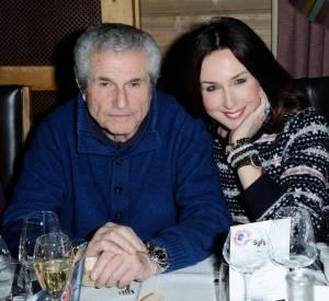 Elsa Zylberstein et Claude Lelouch, président du jury de la 23e édition du Festival international du film fantastique de Gérardmer.