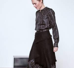 Dans cette collection, Isabel Marant a travaillé sur la coupe et sur la superposition de ses vêtements.