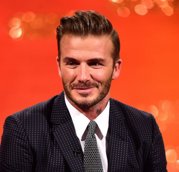 L'ex footballeur David Beckham