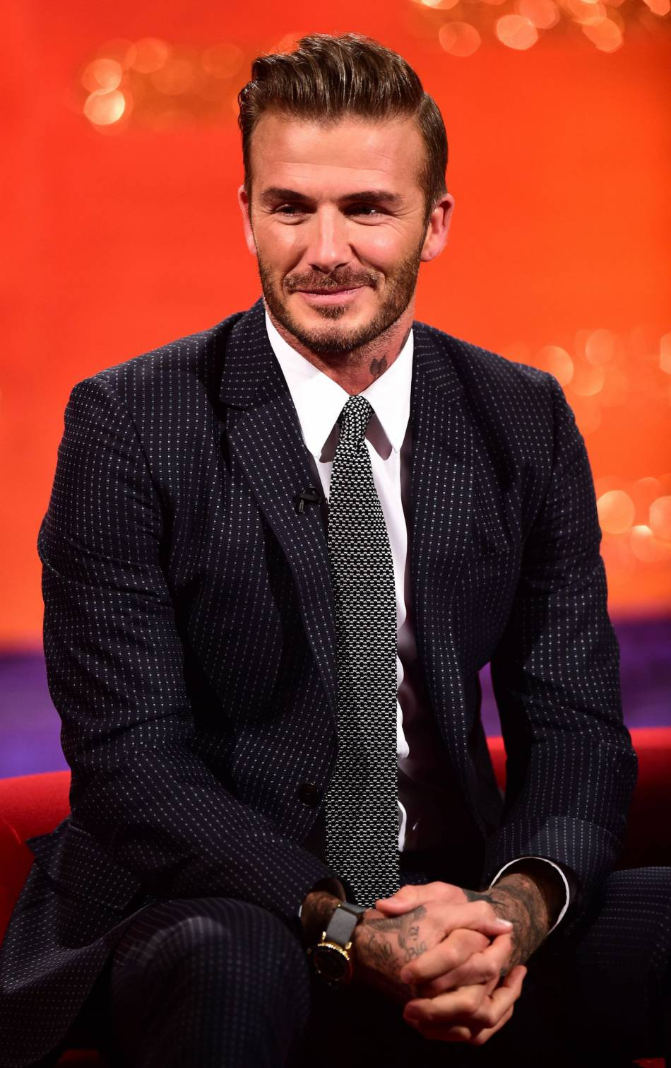 L'ex footballeur  David Beckham