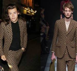 Harry Styles 22 ans : Gucci, Saint Laurent... un chanteur bête de mode !