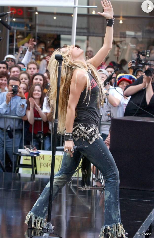 Shakira ou l'art de la pose.